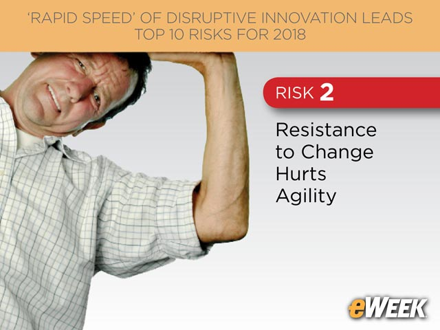 Resistance to Change Hurts Agility