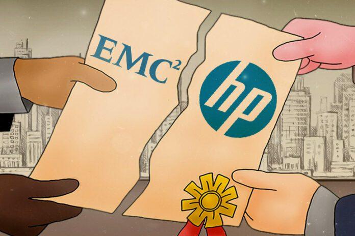 HP and EMC