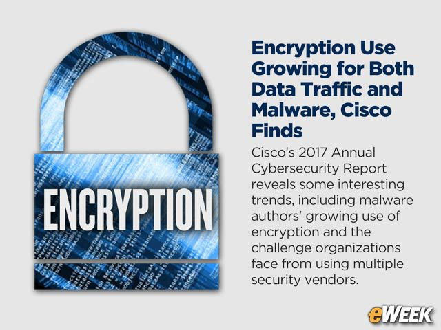Encryption Use Growing for Both Data Traffic and Malware, Cisco Finds