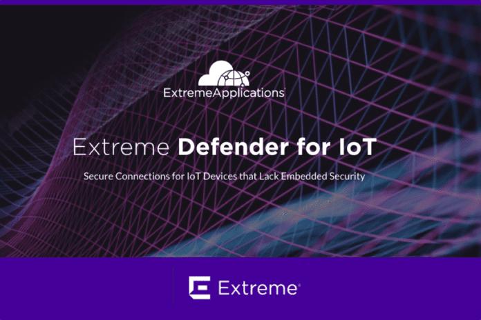 Extreme Networks Defender for IoT