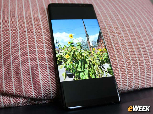 The AMOLED Screen Is Made for Showing Off Photos