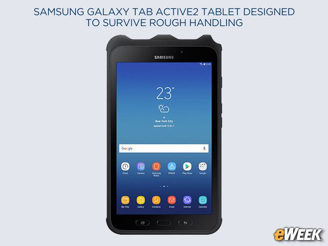 Galaxy Tab Active2 Can Take a Beating