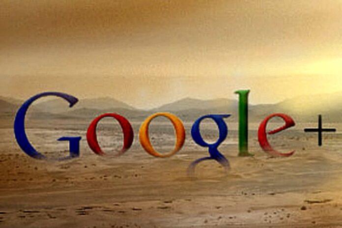 Google Plus Gone