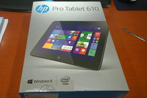 HP Pro Tablet 610