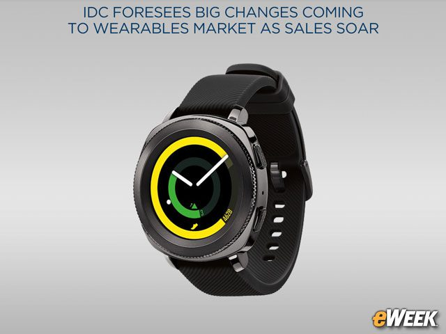 Smartwatches Shipments to Continue Growing