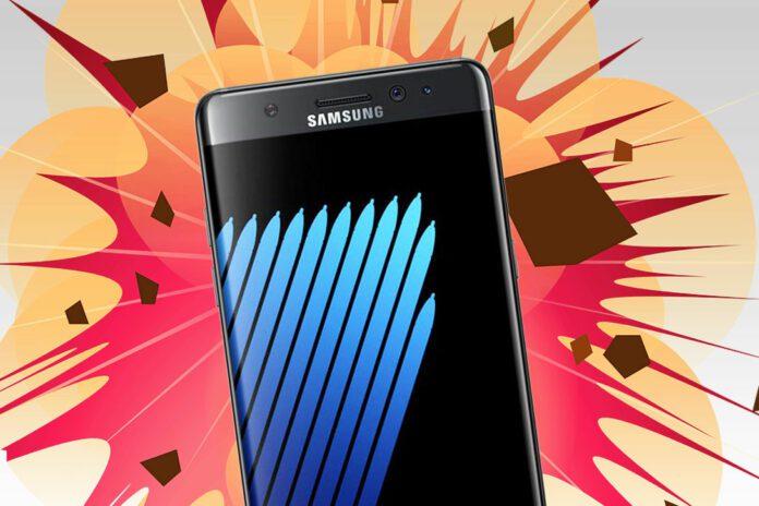 Samsung Note Fire