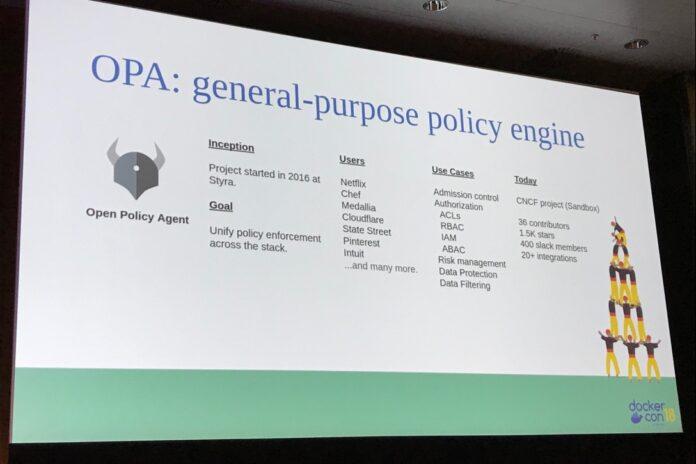 OPA DockerCon Europe 2018