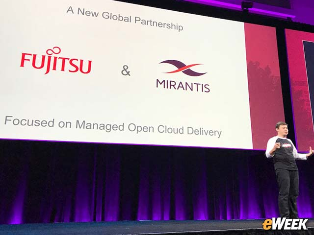 Fujitsu Partners With Mirantis for Remotely Managed Cloud