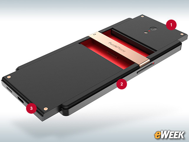 PuzzlePhone Has Three Basic Modules
