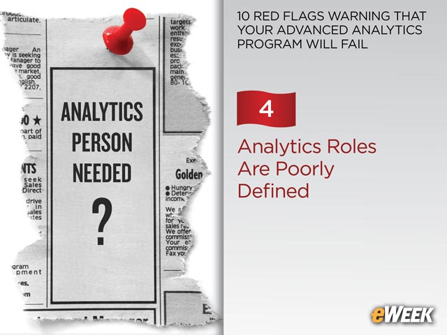 Analytics Roles Are Poorly Defined