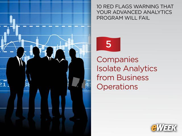 Companies Isolates Analytics from Business Operations