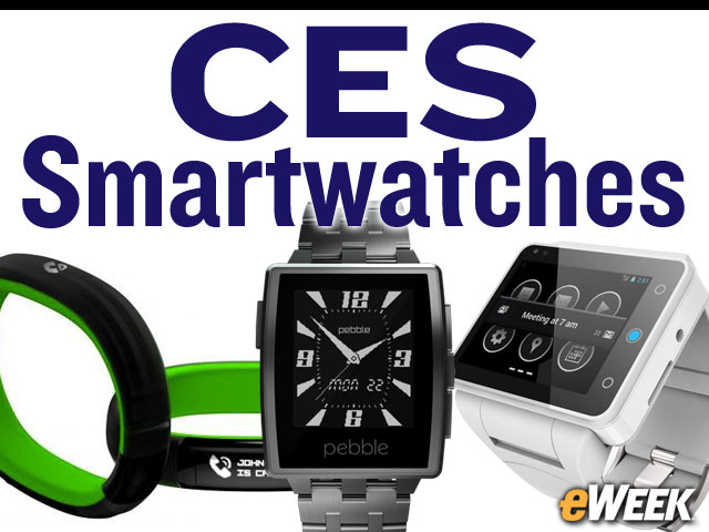 Smartwatches at CES: Intel, LG, Pebble, Others Unveil Devices