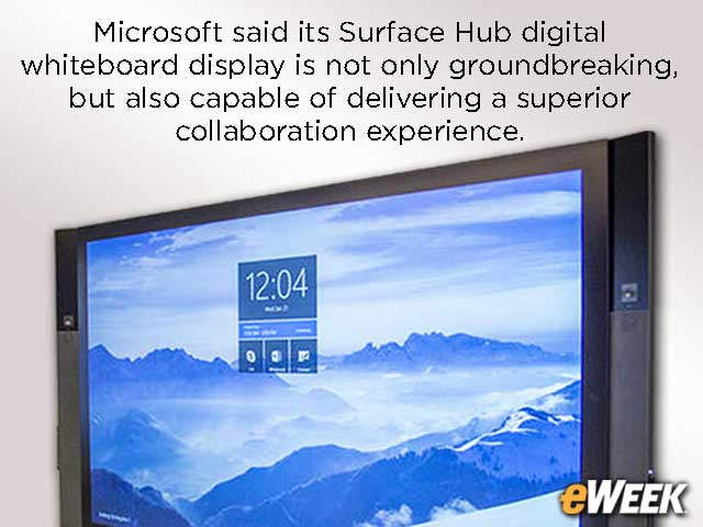 What's in Surface Hub That Makes It Worth $7,000 to $19,000?