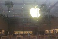 Apple luxury retail