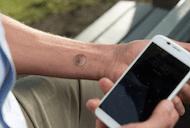 Motorola eSkin tattoos