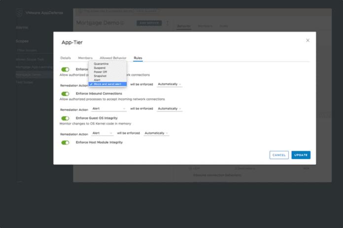 VMware AppDefense