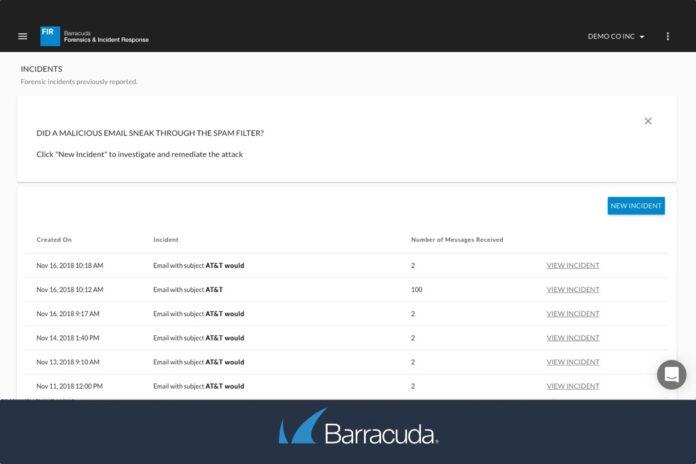 Barracuda Forensics