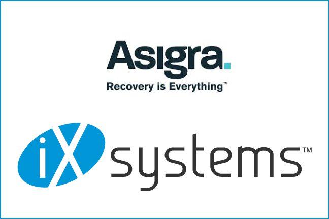 iXsystems.Asigra.logos