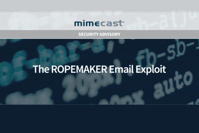 Mimecast Ropemaker
