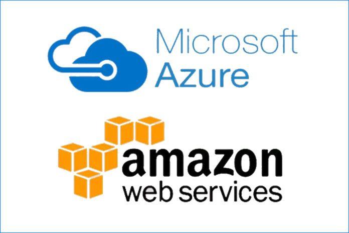 AWS.Azure.logos