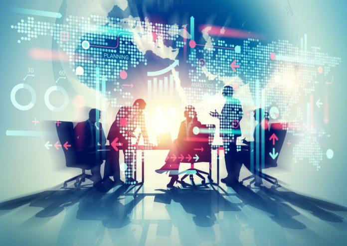 business meeting tech analytics